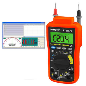 Multimeter Usb-Pc-Link DMM Current Voltage Auto-Backlight DC 4000 with BT-90EPC BT-90EPC