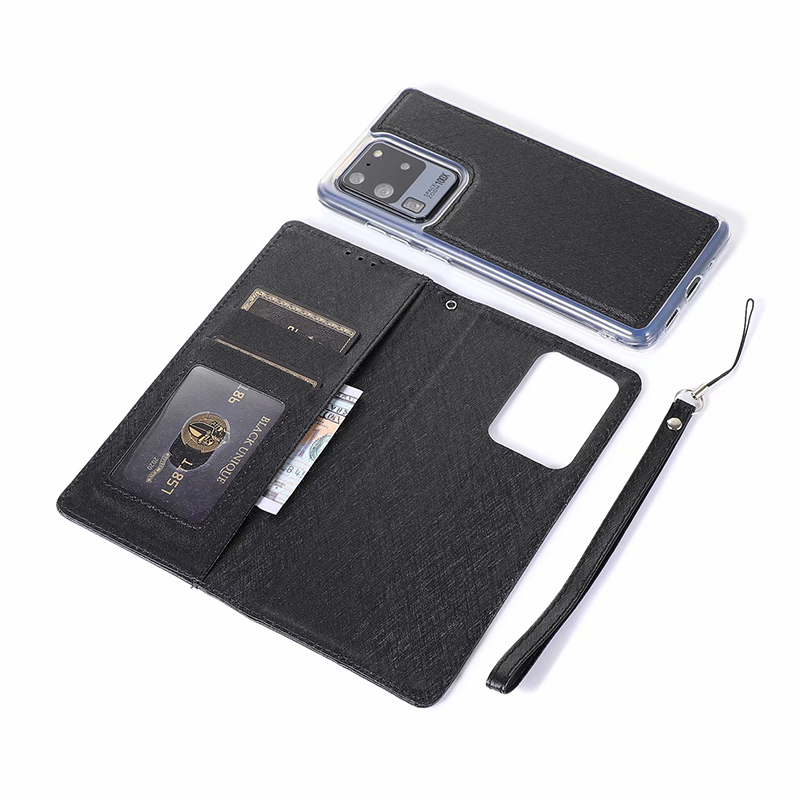 Detachable Flip Leather Case for Samsung S20 S20 Plus Magnetic Wallet Case For Samsung S20 Ultra S10 S9 S8 S7 Note 10 10+ 9 8