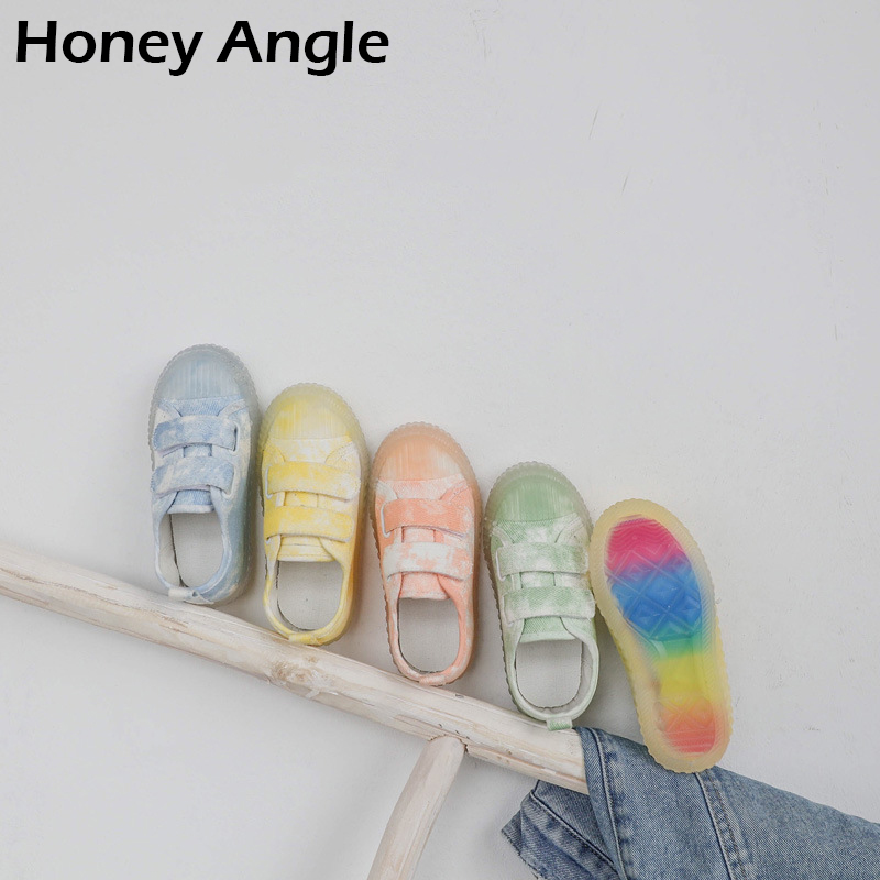 Spring Autumn Kids Canvas Shoes For Girl Boy Colorful Korean Style Baby Girl Boy Shoes Casual Toddler Baby Canvas Shoes