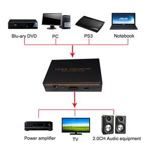 Image 5 - HDMI аудио экстрактор конвертер 5.1CH аудио сплиттер 1080P Стерео аналоговый HDMI в HDMI Оптический SPDIF RCA L/R адаптеры Конвертеры