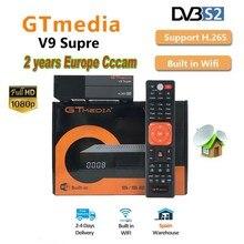 1080P Full HD GT media V9 Super Europe Cline for 2 Years Satellite TV R