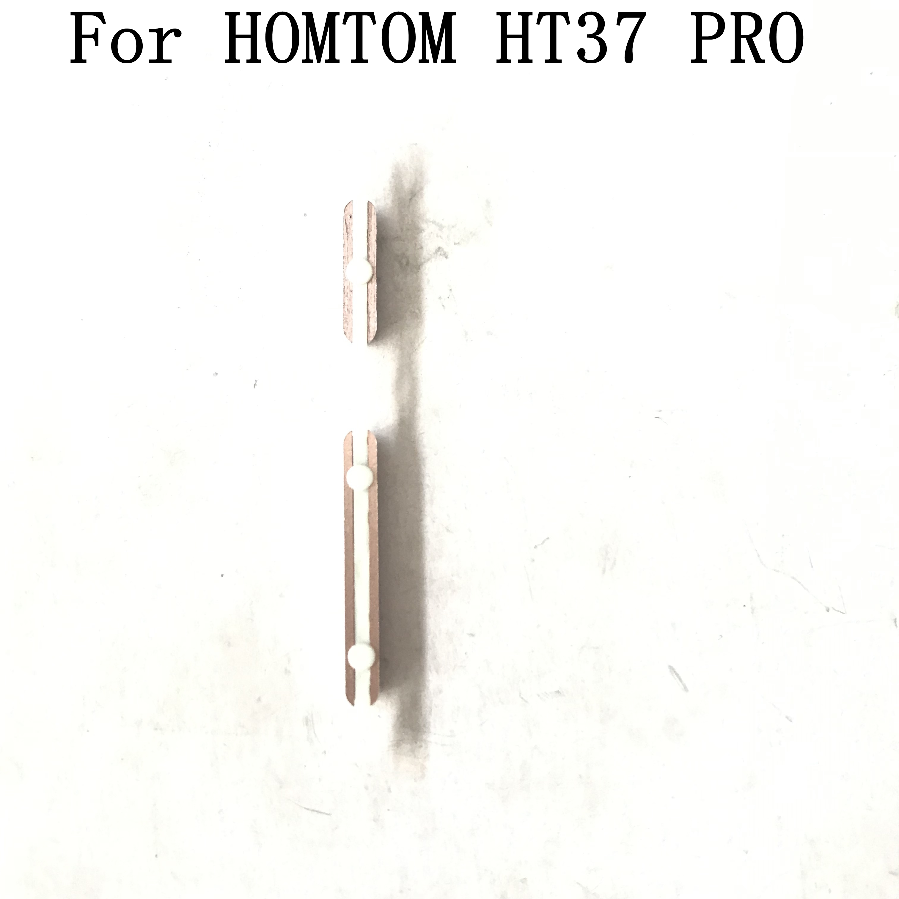 HOMTOM HT37 PRO Used Volume Up / Down Button+Power Key Button For HOMTOM HT37 PRO Repair Fixing Part Replacement enlarge