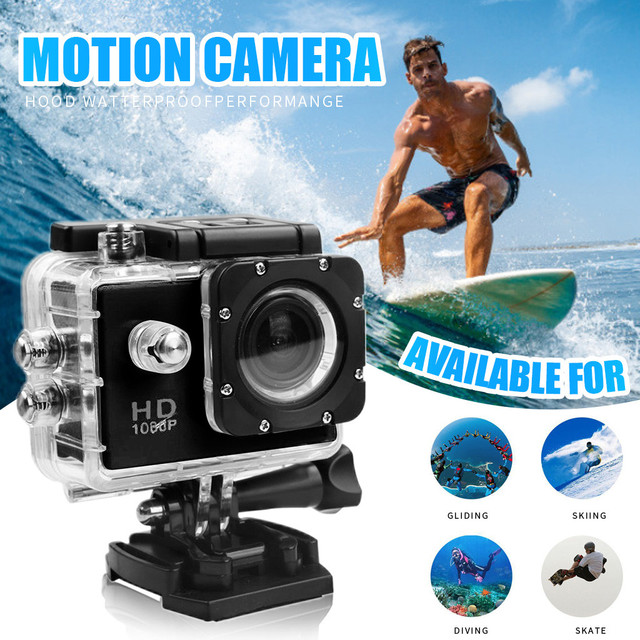 HD 1080P 140 Degrees Wide-angle Lens Waterproof Case WIFI Mini Action Cam HD DV Sports Recorder Camera Lightweight Convenient