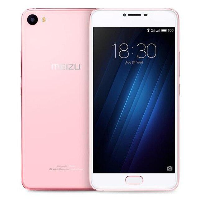 Original MEIZU U20 Telecom version ROM 3GB RAM 16GB ROM Cell Phone 5.5 inch octa-core Fast Charging Mobile Phone 4