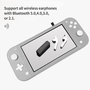 Image 4 - Беспроводной аудио адаптер GuliKit NS07 Pro Route Air с поддержкой голосового чат USB C Bluetooth аудио передатчик для Nintendo Switch PS4