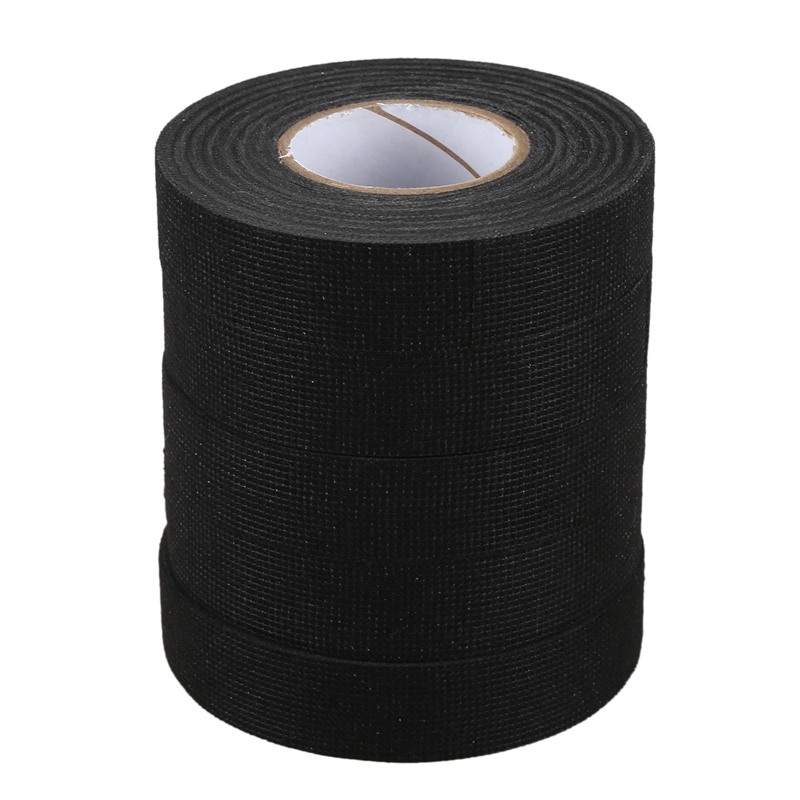 10  Rolls of TESA 51618 19mmx25m Cloth Fabric Tape Cable Looms Wiring Harness