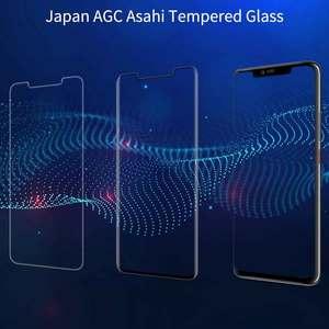 Image 3 - Nillkin verre pleine colle pour Huawei Mate 20 Pro P30 Pro Film protecteur décran verre trempé 9D 9H outils dinstallation gratuits