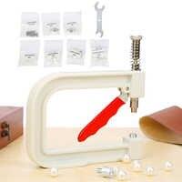 Manual pérola grânulo máquina diy ferramentas manuais de vestuário pérola boné grânulo rebite artesanato reparação tricô rendas chapéu ferramentas