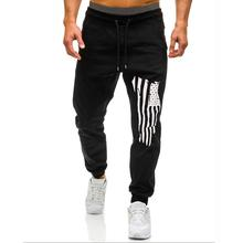Fashion print Pants for Men Leisure Sweatpants Joggers & Sweats Trousers Sports Fitness New Army green