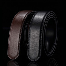 Pu Belt Jeans Luxury Strap Automatic Buckle Male High-Quality Genuine Men G158 New