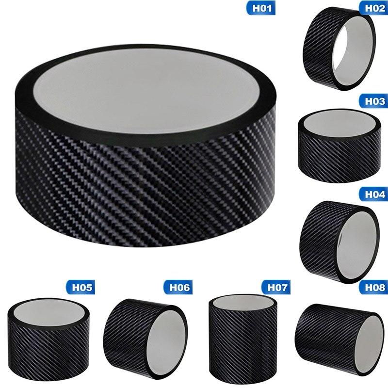 Carbon Fiber Car Sticker Protector Strip Nano Sticker Auto Door Sill Anti Scratch Tape Collision Scuff DIY Paste Protection Film