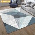 Современный геометрический ковер для гостиной RFWCAK  противоскользящий большой коврик для спальни  детский коврик  модные кухонные ковры  ко...