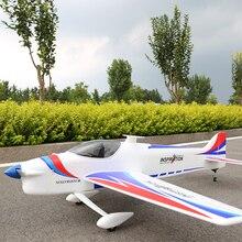 F3A пропеллер 3D RC самолет 1400 мм размах крыльев 50E класс