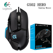 Logitech עכבר G502/G102 לתכנות משחקי ביצועים גבוהים עכבר מנוע עם 16,000 DPI לתכנות ומתכונן עכבר גיימר