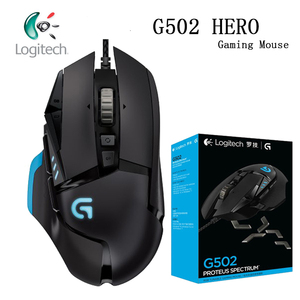 Logitech Mouse G502/G102 Programmable High Performance Gaming Mouse Engine with 16,000 DPI Programmable Tunable for Mouse Gamer