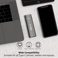 KESU SSD 256GB 512GB 1T Portable Solid State Drive USB 3.1 Gen 2 540M/s External Storage Compatible for Mac Latop/Desktop/Tablet