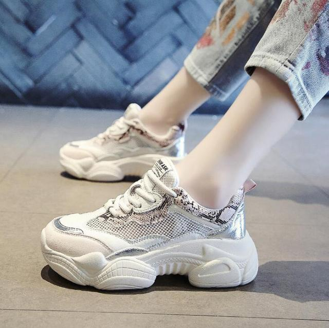 Women Shoes Chunky Sneakers...