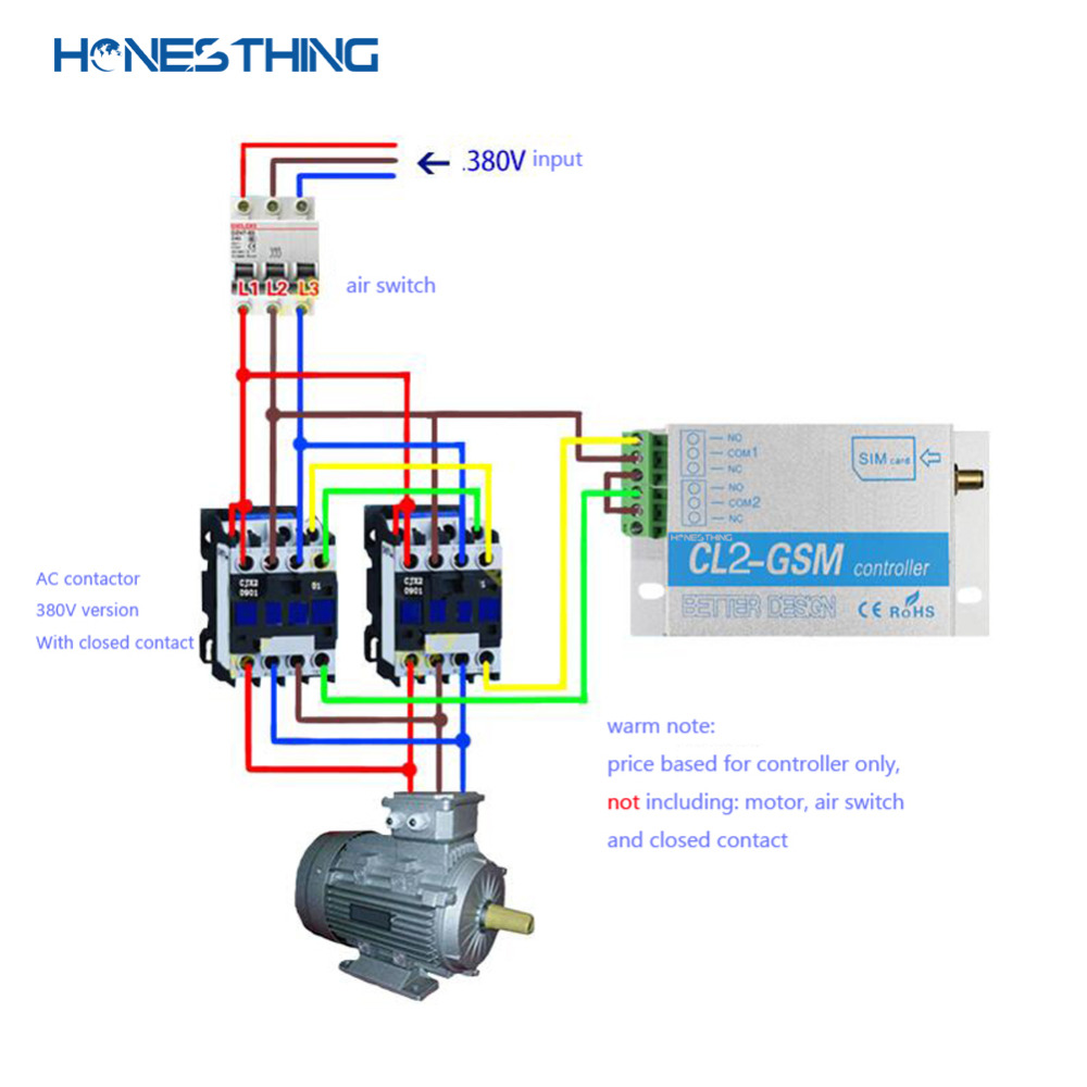HonesThing GSM Door Opener Control Board Dial to Open the Garage Gate by Free Call Swing Sliding Operator Controller CL2-GSM 8