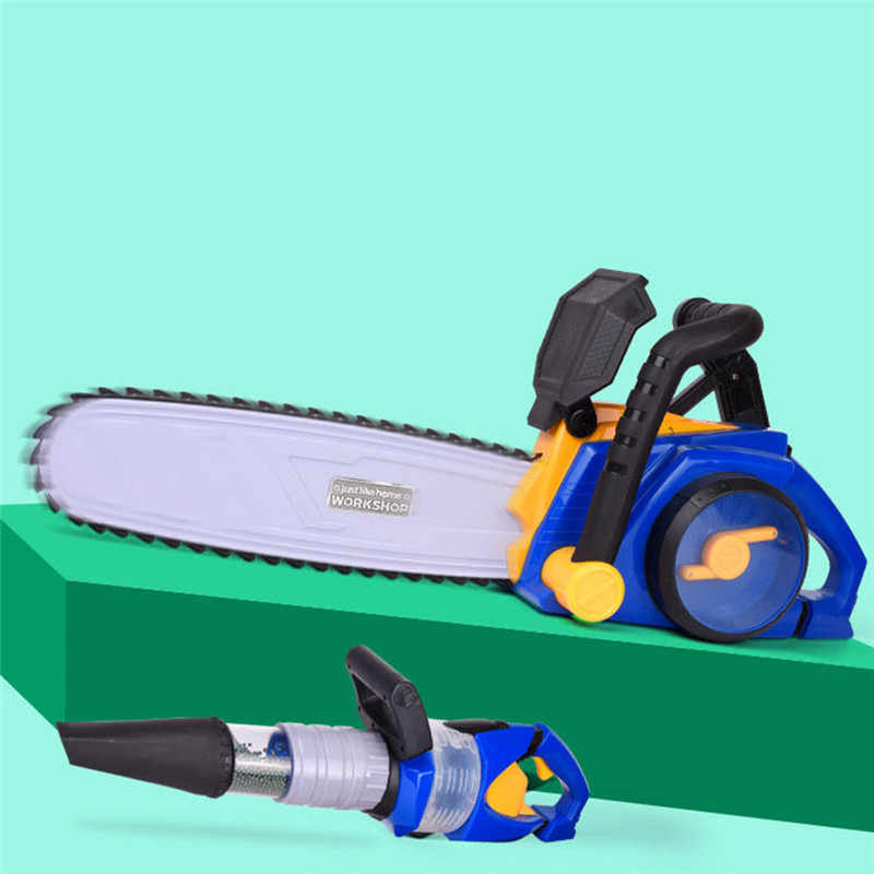 Anak Simulasi Berpura-pura Toy Electric Vacuum Cleaner Gergaji Menghapus Rumput Bermain Anak-anak Rumah Mainan Dropshipping