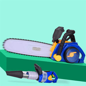 House-Toys Play Pretend-Toy Chainsaw Simulation Electric-Vacuum-Cleaner Children's Remove-Grass