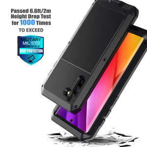 Image 5 - ヘビーデューティ保護運命鎧金属アルミ電話ケース iphone 6 6S 7 8 プラス X 4 4S 5S 、 SE 5C 耐衝撃防塵カバー