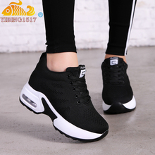 NAUSK 2019 New Platform Sneakers Shoes Breathable Casual