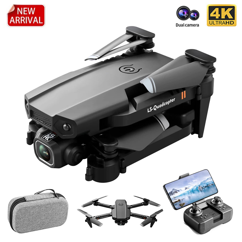 JINHENG New Mini Drone XT6 4K 1080P HD Camera WiFi Fpv Air Pressure Altitude Hold Foldable Quadcopter RC Drone Kid Toy GIft 2