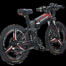 Стандартный литиевый Электрический горный велосипед LG с аккумулятором, 48 В, складной, для пересеченной местности, с переменной скоростью, 26 ...