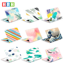 HRH 2 in 1 Creative Abstraction Design Laptop Decal Stickers Guard Skin For 11/12/13/14/15/16 inch for MacBook for HP for Dell