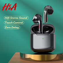 Mini Bluetooth Earphones with Microphone Touch Control Wireless Headphones Headsets Sports Music Wireless Earbuds 24h Play Time