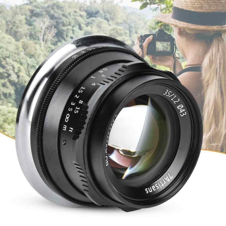 Lenses Camera & Photo gaixample.org 7artisans 35mm F1.4 Lens Black ...