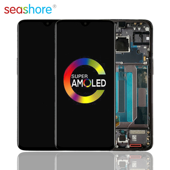 100% ORIGINAL For OnePlus 7 LCD Touch Screen Digitizer Assembly For Oneplus 7 Display with Frame Replacement 1+7 GM1900 GM1901 4 6original for sony xperia z3 compact lcd touch screen digitizer assembly for sony z3 mini display with frame replacement z3c