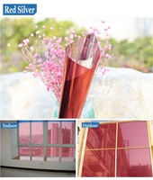 120cmx5m Thermal Insulation Window Film Self Adhesive Residential DIY Glass Foil One Way Mirror Privacy Protection Tint Film