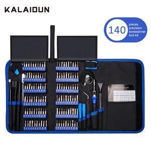 Image 1 - KALAIDUN 140 In 1 Precision Screwdriver Set Torx Bit Screw Driver Bits Magnetic Mobile Phone Multitools Repair Hand Tools Kit