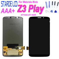 6.01 LCD For Motorola Moto Z3 Play XT1929 XT 1929 LCD Display Touch Screen Digitizer Glass Assembly + Free Tools