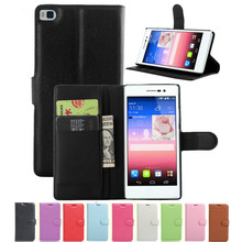 Fitted Case for Huawei P8 / P8 Max Wallet Flip Leather Cover P8 GRA-L09 5.2 inch