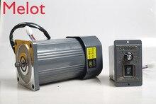 цена на 200W 220V gear speed motor / AC gear motor 6IK200RGN-CF + speed governor