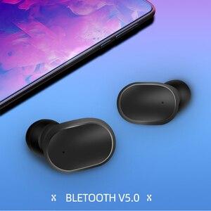Image 2 - A6S TWS Drahtlose Kopfhörer PK Airdots Stereo Bluetooth Kopfhörer BT 5,0 Wasserdichte Sport Headsets Noise Cancelling Mic Für Redmi