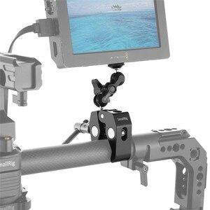 Image 4 - Smallrig Multi Functionele Krab Vormige Klem Met Balhoofd Arm Voor Dji Stabilizer/Freefly Stabilizer/Video C Stand Clamp Kit 2161