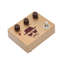 New Design OEM Gold Aluminum Enclosure High Gain Handmade Klon Overdrive Effects Pedal For Guitar Accessories