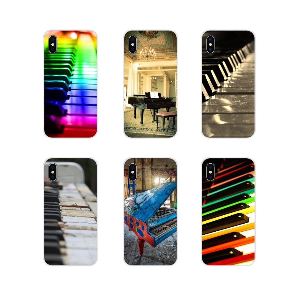 Accessories Phone Shell Cases For Huawei Nova 2 3 2i 3i Y6 Y7 Y9 Prime Pro GR3 GR5 2017 2018 2019 Y5II Y6II Music Software Piano image