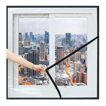 Ciepłe folie okienne dekoracyjne folie okienne niestandardowe wiatroodporne naklejki na okna energooszczędne folie okienne termokurczliwe tanie i dobre opinie CN (pochodzenie) Samoprzylepne Window Film 001 Szkło filmy Izolacja cieplna