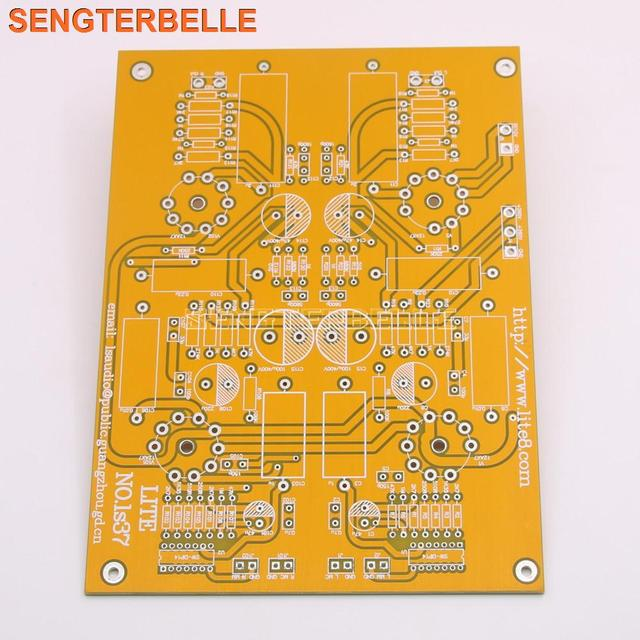 LITE LS37 PCB tube pickup device MM&MC dual input Phono Amplifier PCB Empty Board Based onUS VTL Circuit