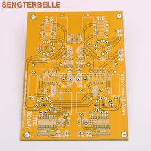 لايت LS37 PCB أنبوب جهاز لاقط MM و MC المزدوج المدخلات فونو لوحة مضخم صوت فارغة مجلس بناء المسؤولية VTL الدائرة