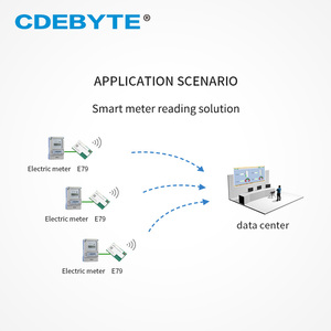 Image 4 - E79 400DM2005S CC1352P SUB 1GHz 2.4GHz SMD IoT Ricetrasmettitore 20dBm 5dBm IPEX Modulo Senza Fili