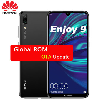 Huawei Enjoy 9 Y7 Pro 2019 Smartphone Global Rom Snapdragon 450 Octa Core Android 8.1 Face ID 4000mAh Bluetooth Dual Card Phone