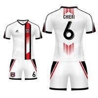 Custom Soccer Jerseys Men Women Camiseta Futbol 100% Polyester Football Kit Full Sublimation Printing Football Uniforms Men
