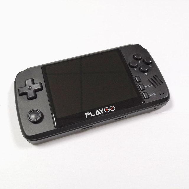 Nowa ulepszona konsola emulatora PLAYGO 3.5 calowy ekran IPS przenośny odtwarzacz gier zbudowany w 1000 gier w 16GB karcie TF dla PS1 NES