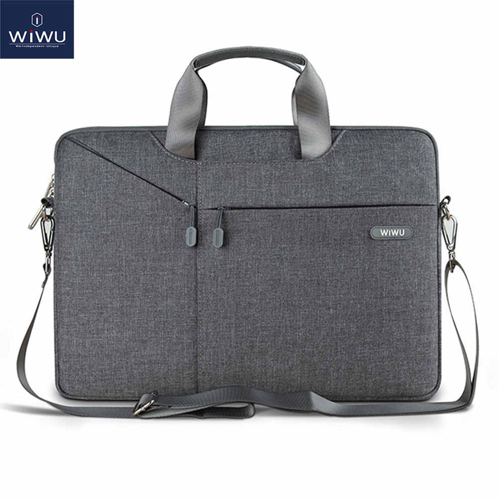 Wiwu Laptop Tas 17.3 16 15.6 15.4 14.1 13.3 Waterdichte Laptop Tas Voor Macbook Air 13 Case Notebook Bag Voor macbook Pro 13 Case
