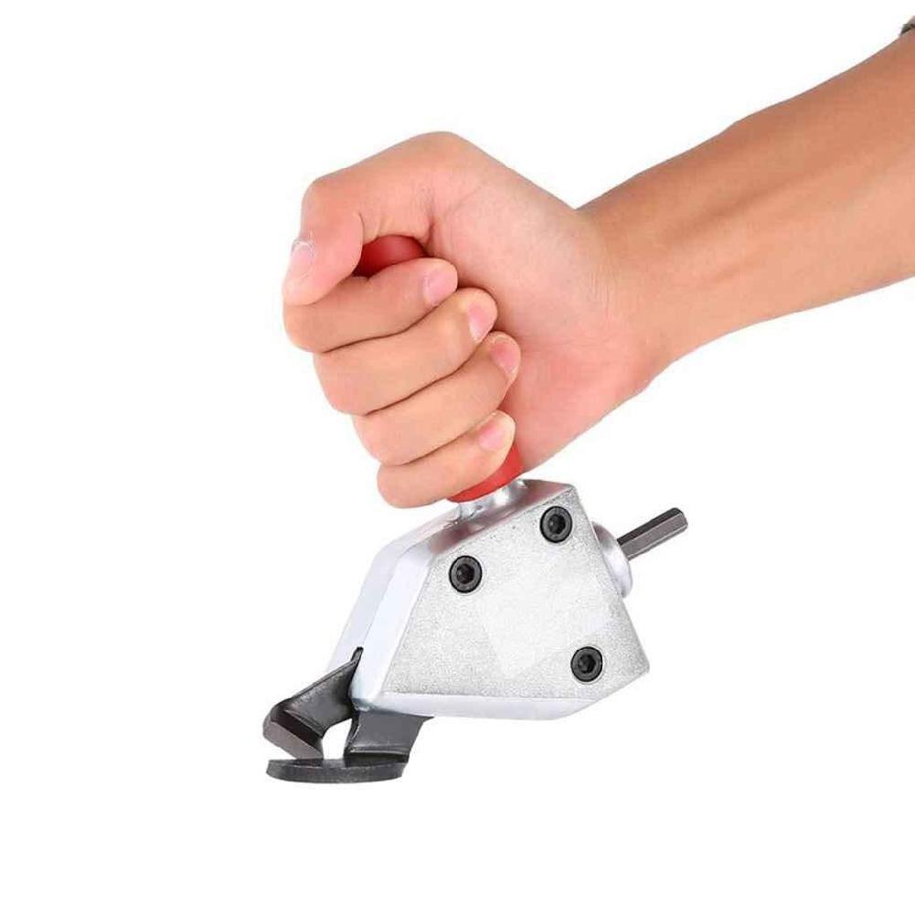 1/4in кусачки для резки металла 6,35 листового металла кусачки для сверления Ножницы Крепления электрические ножницы для электроинструмента а